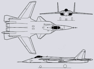 Sukhoi Su-47 Berkut 3 views