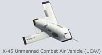 X-45  Unmanned Combat Air Vehicle (UCAV)