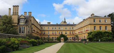 Image of Trinity College, Oxford [(c) Trinity College]