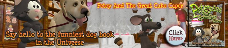 The Funniest Dog Book In The Universe, Petey And The Great Cake Caper.