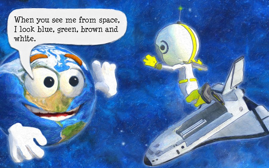 Page 18 from I Am Earth: An Earth Day Book for Kids