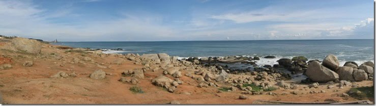 the southernmost tip of india panorama