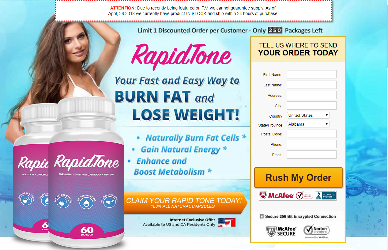 how to use rapid tone diet