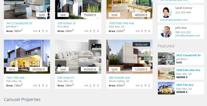 Realia Premium Real Estate Wordpress Theme