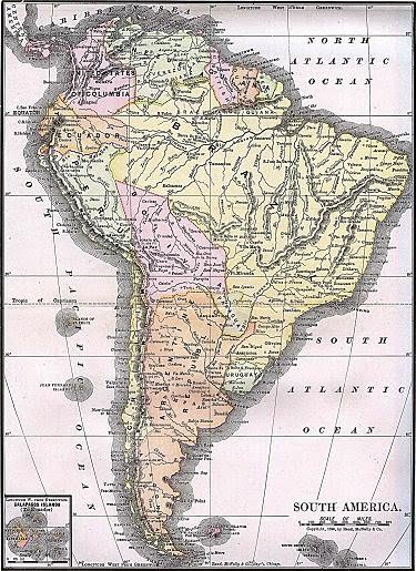 South American Countries In Spanish