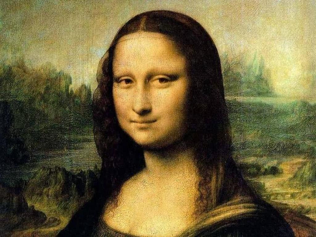 How was the Mona Lisa humanistic art?