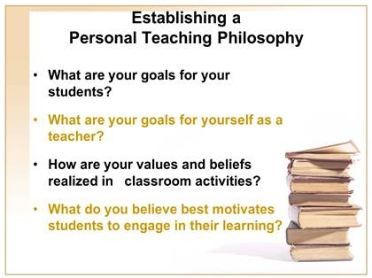 teaching philosophy and goals