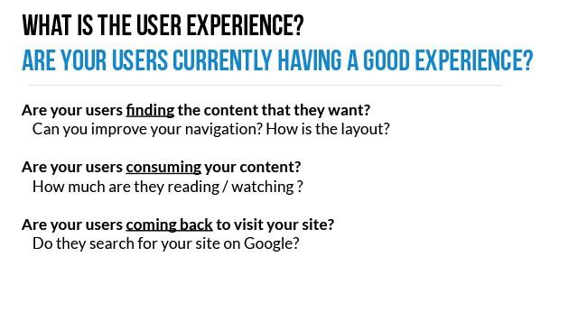 Google User Experience Part 1