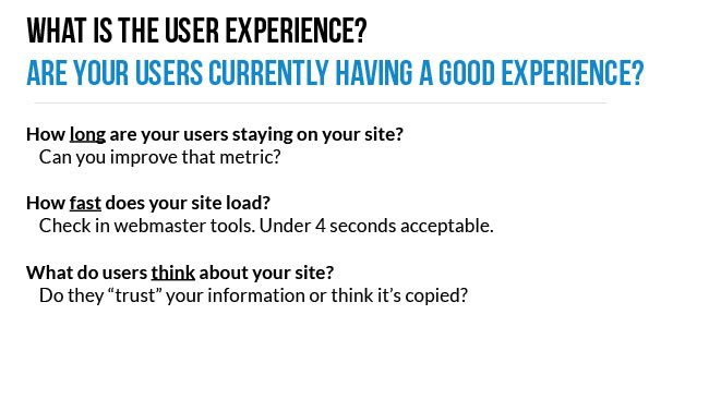 Google User Experience Part 2