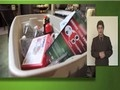 Instructional video containing information specific to Americans with disabilities or other access and functional needs regarding emergency preparedness