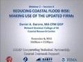 Recorded webinar about using Flood Insurance Rate Maps to reduce coastal flood risk