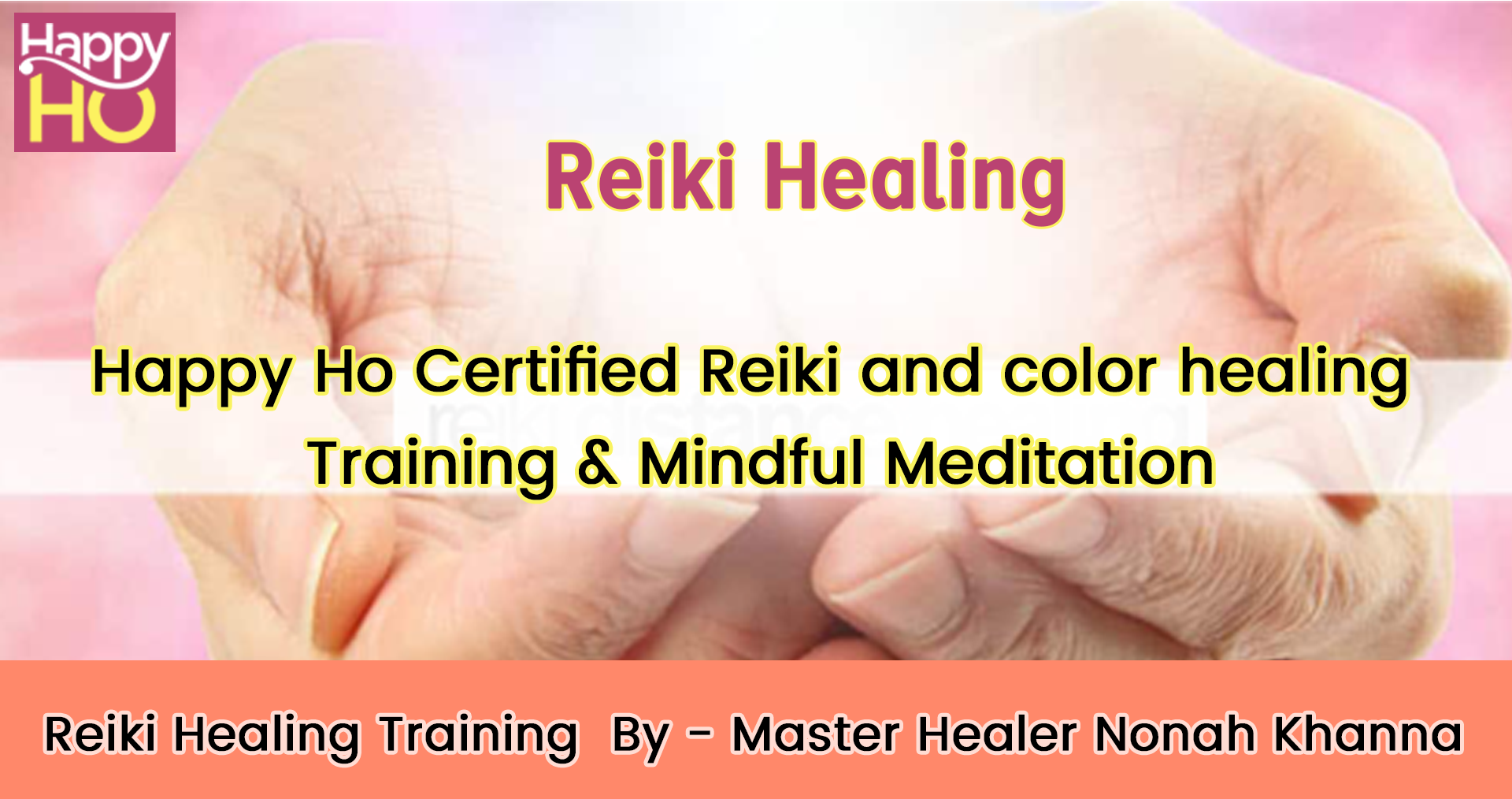 Reiki Healing Training in Noida