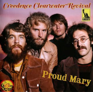 CCR - Proud Mary (Single Hoes)