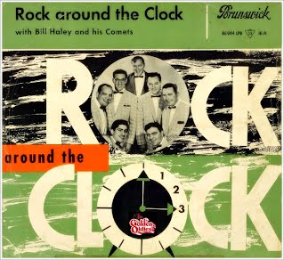 Bill Haley - Rock & Round the Clock (Single Hoes)
