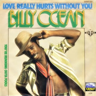Billy Ocean - Love Really Hurts (Singlehoes)