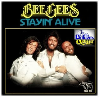 Bee Gees - Stayin' Alive (Singlehoes)