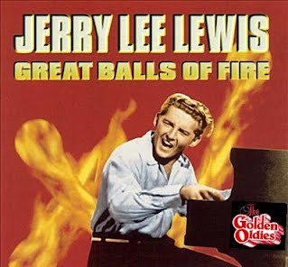 Jerry Lee Lewis - Great Balls of Fire (Singlehoes)