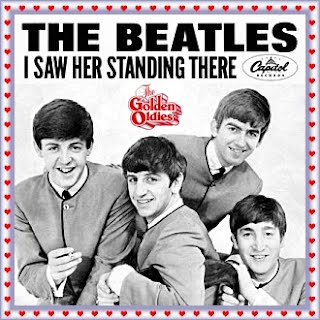 Beatles - I Saw Her Standing There (Singlehoes)