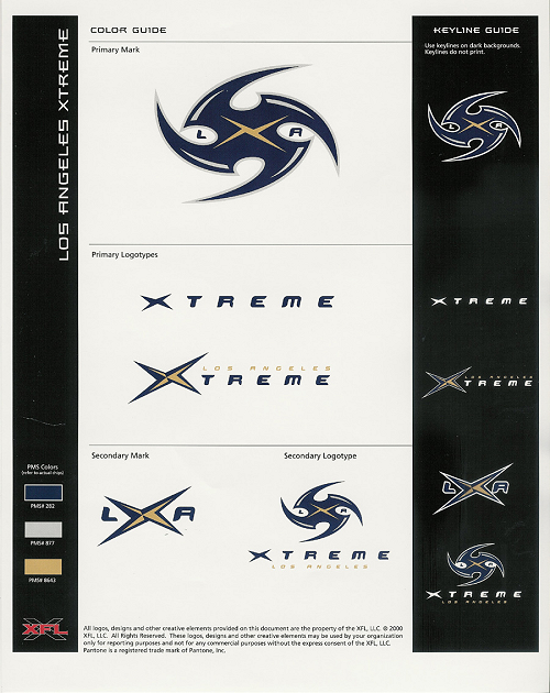 Los Angeles Remember The Xfl