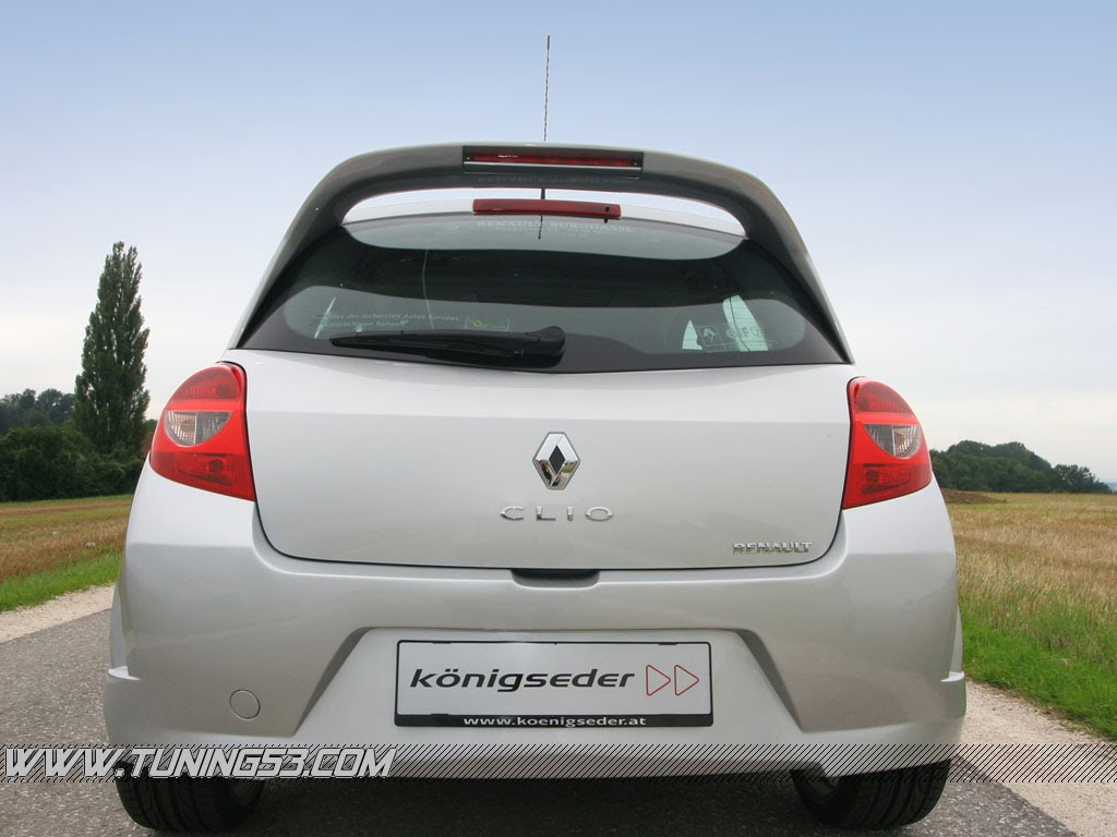 Modern of Renault Clio Wallpaper
