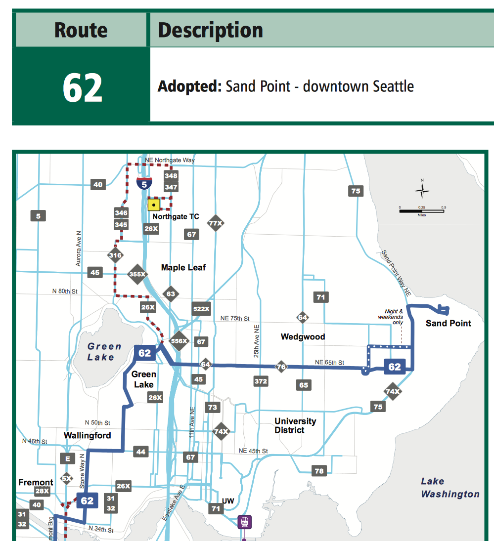 Bus Metro 62 Route Map And Schedule Reroute Metro 62