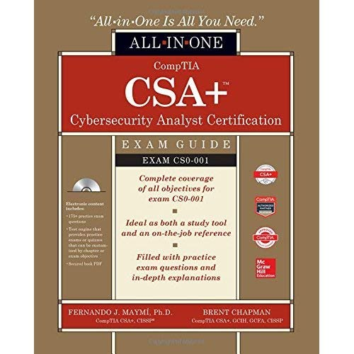 Download Comptia Csa Cybersecurity Analyst Certification All In One