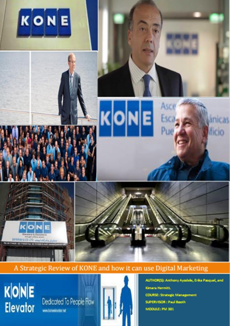 A Strategic Review of KONE and how it can use Digital