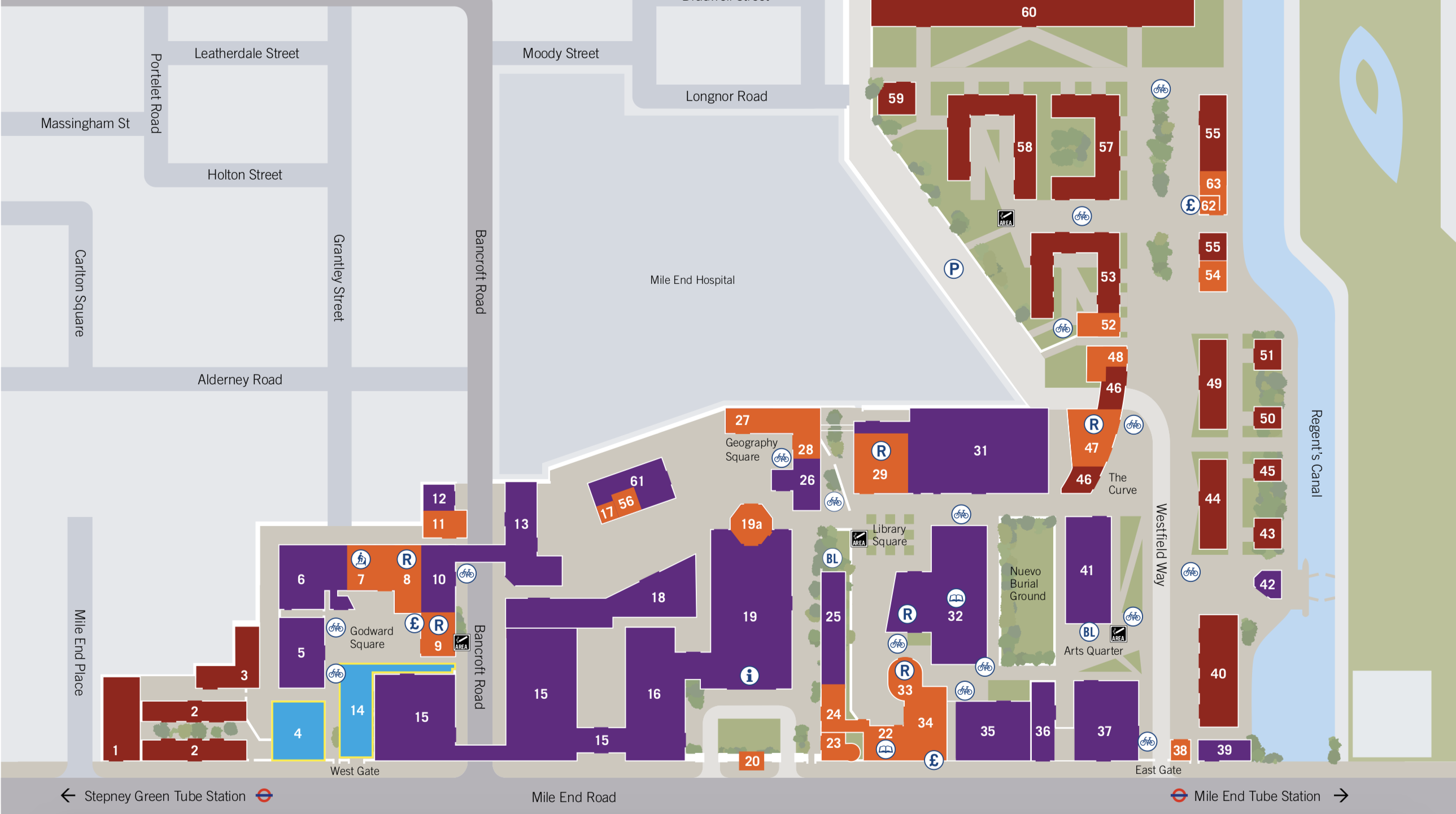 queen mary university of london campus map Queen Mary University Of London Restud Tour 2018 queen mary university of london campus map