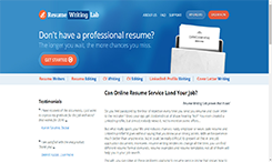 Resume Services Review Online  Best Resume Sites