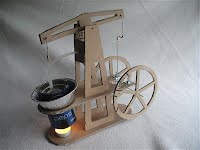 Walking beam engine kit