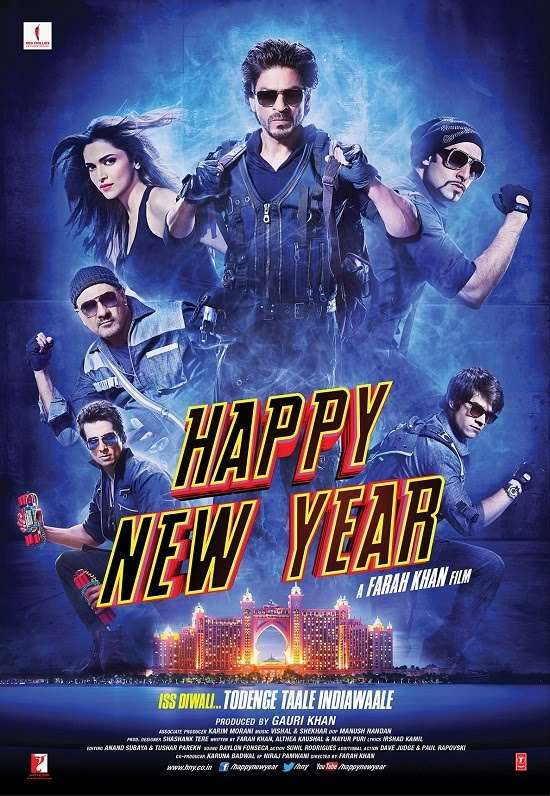 Happy New Year 2014 - reviewPhim