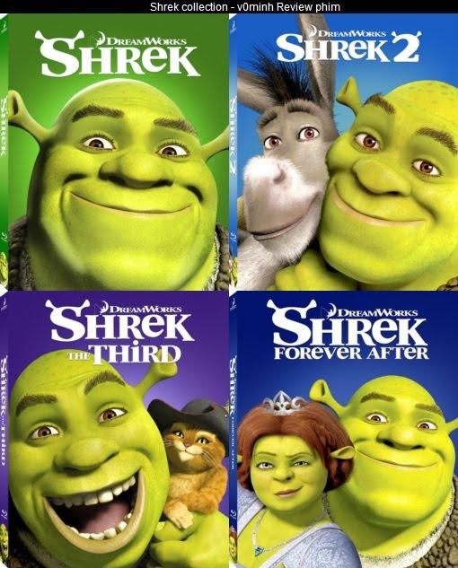 Shrek collection (2001-2010) - reviewPhim