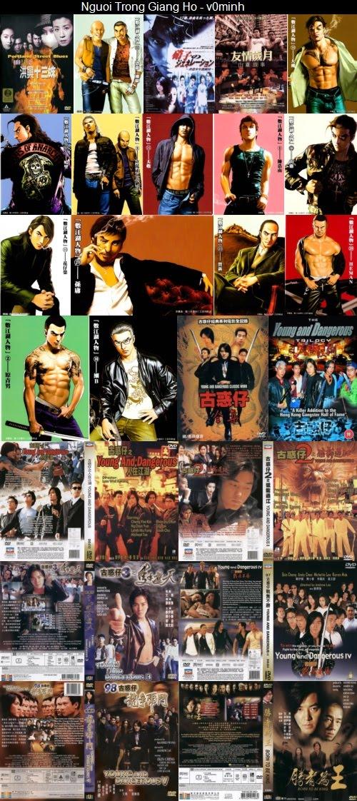 Người Trong Giang Hồ collection (1995-2013) PAL/NTSC DVD5