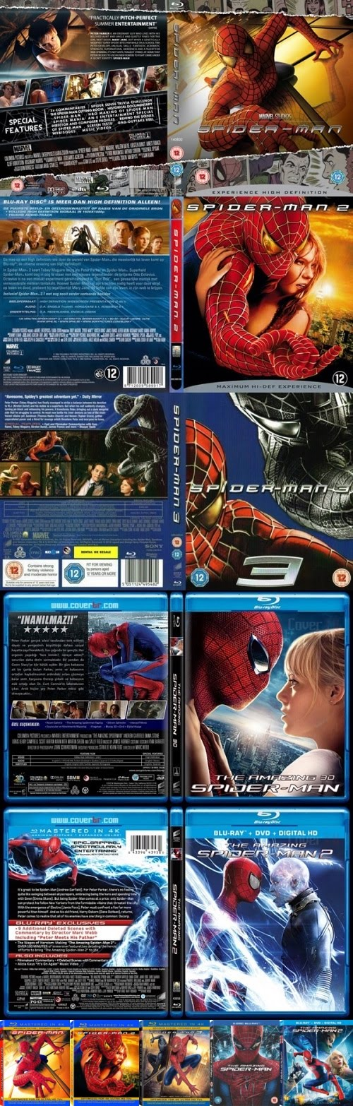 Bluray 1080p spiderman