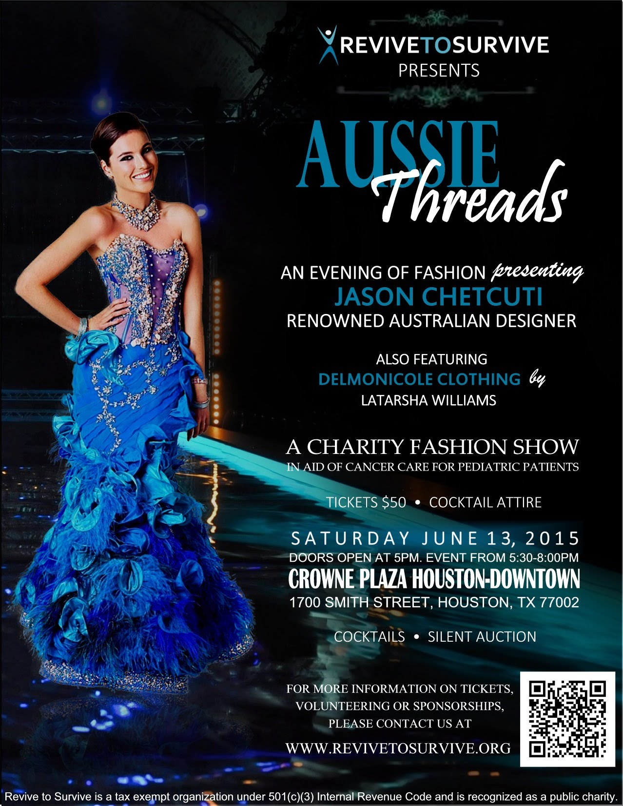 Aussie Threads Poster