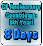 Rokhopper987's Updating CP Anniversary Party Countdown!