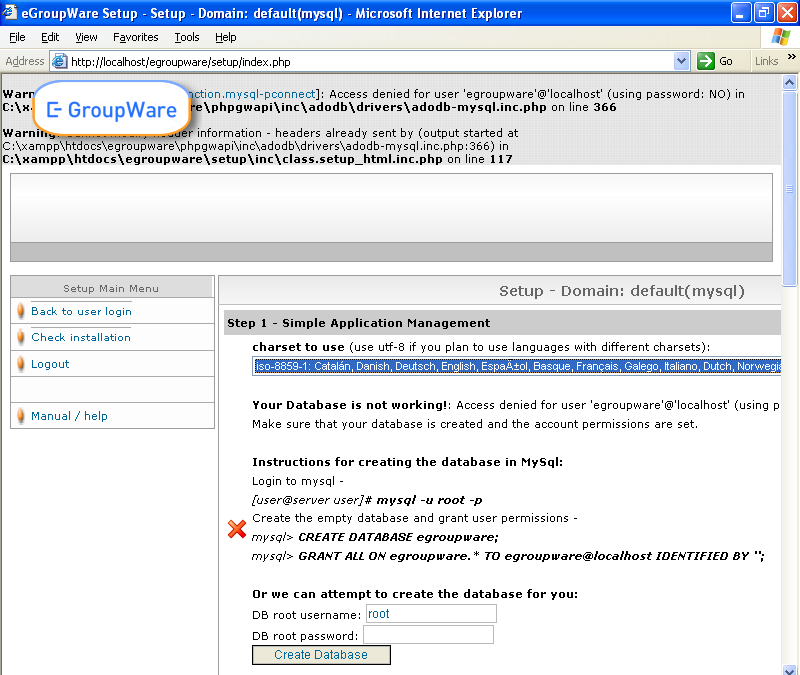 egroupware windows
