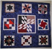 Quilt donated to Veteran's Hospital