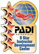 Professional Association of Dive Instructors logo