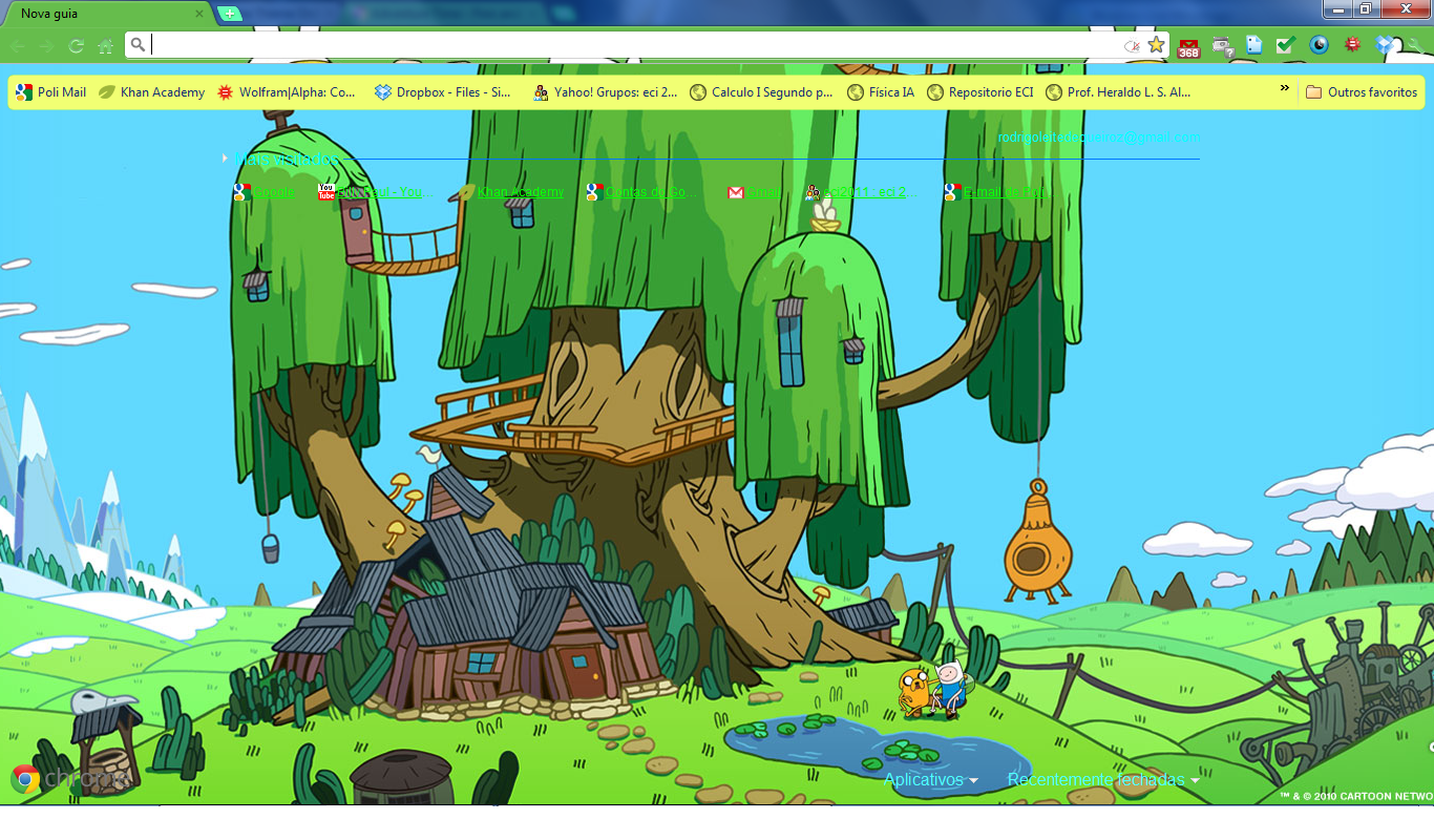 adventure time google skins - photo #1