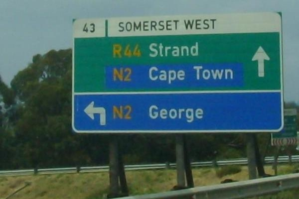 South Africa   Road numbering systems