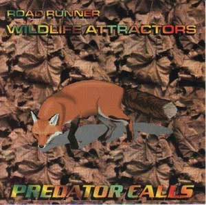 Front Cover - Predator Calls CD