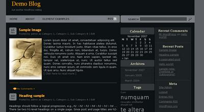 Free total Blogger: Genesis Blogger XML Template