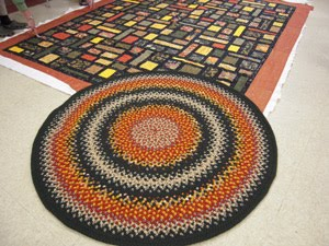 Rugs and Christmas by Jan Watson