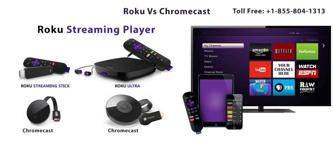 cast chrome to roku tv