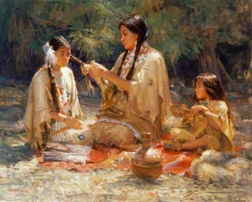 Women Roles Of Native American Families