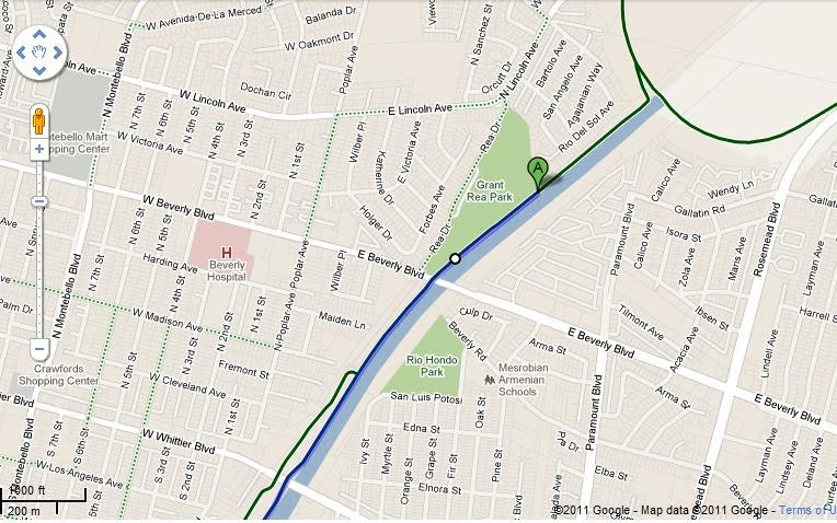 East Los Angeles College Map Bike Riding Sessions/Locations   East Los Angeles College Rolling