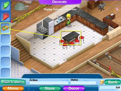 Virtual families 2 our dream house walkthrough cheats for Virtual home walkthrough