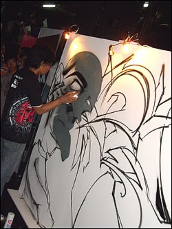 Bomber GrafitiDjarum Black Urban Art