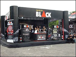 Stand event Djarum Black Urban Art